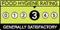 FHRS Rating 3